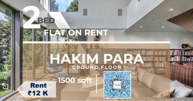 2 Bed Flat For Rent in Siliguri Hakimpara