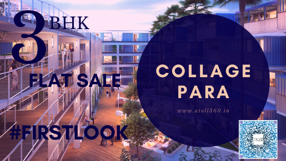 3 Bed Flat Sale in College para Siliguri