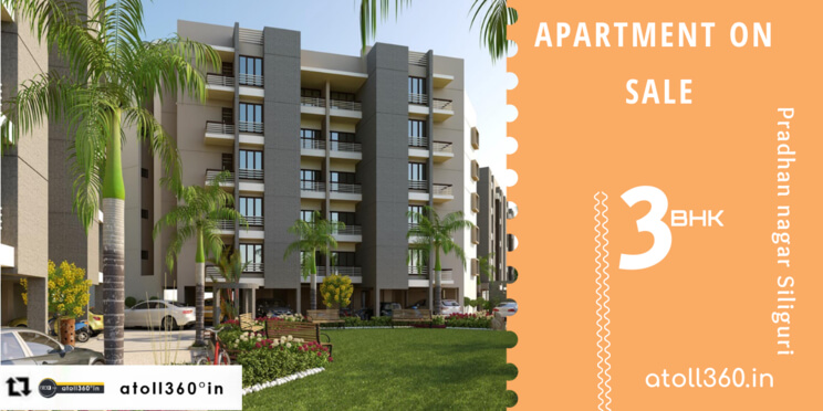 Flat for sale in Siliguri Pradhan Nagar