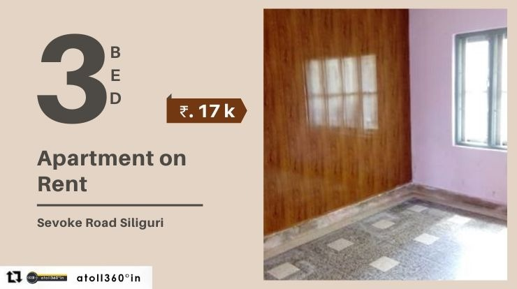 Flat For Rent in Siliguri Sevoke Road