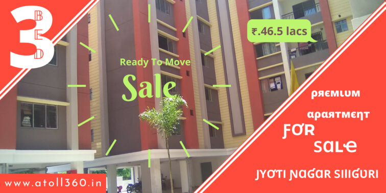 Flat For Sale in Siliguri Jyoti Nagar
