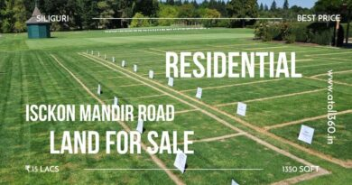 Land for sale in siligri isckon mandir