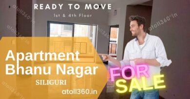 Flat for sale in Siliguri Bhanu Nagar